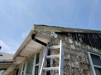 painting house and power washing