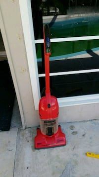 red and gray Dirt Devil upright vacuum cleaner Port St. Lucie