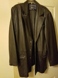 Black Leather Limited soft leather XL