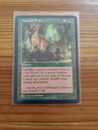 NM-M MTG Natural Order Visions.  Whitby, L1P 1A1