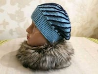 blue and black knit cap Mississauga, L4X 1R9