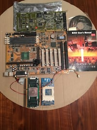 Abit BX6 motherboard with celeron processor+ PGA370 adapter, and sound blaster sound card Springfield, 22152