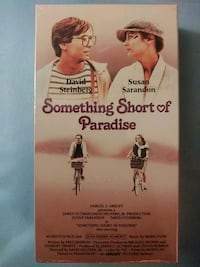 Something Short of Paradise vhs