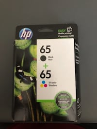 HP 65 Color & BW cartridge Monmouth Junction
