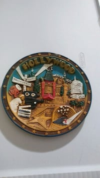 3D Hollywood CA collector display plate Gaithersburg, 20878