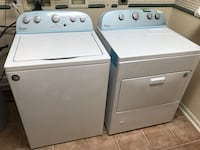 Whirlpool washer and gas dryer, 1 year, half price OFF! 密苏里城, 77459