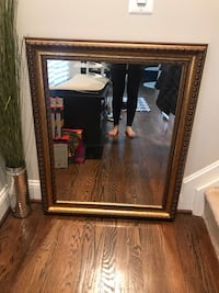 Gold framed wall mirror, never used Silver Spring, 20901