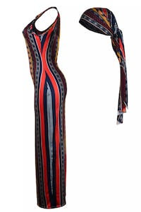 Maxi Dress with head band