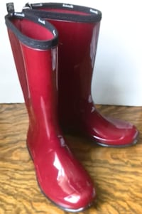 Kamik Vinyl Rain Boots - Like New London
