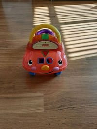 Toy car works perfectly