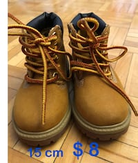 pair of brown leather work boots 蒙特婁, H3H