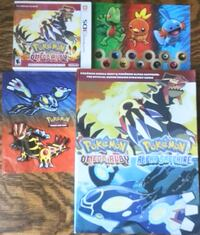 Pokémon Omega Ruby, Strategy Guide and Stickers