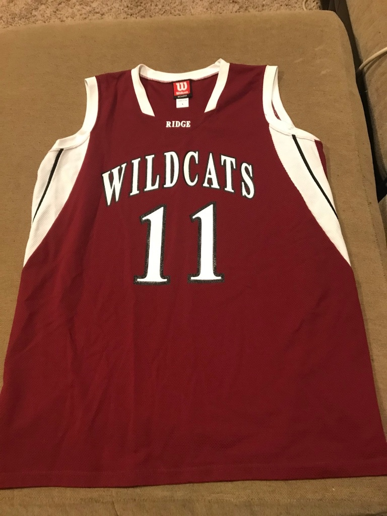 Photo Women's Maroon and White Large Wildcats #11 Jersey