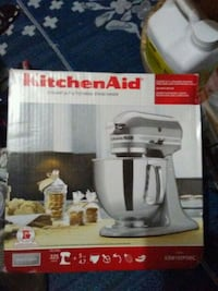 stainless steel Kitchen Aid stand mixer BNIB Vancouver, V6A 3A4
