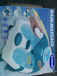 New** Dr. Schools foot spa  Clarence-Rockland, K0A 1E0