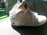 pair of white Air Jordan basketball shoes Fontana, 92335