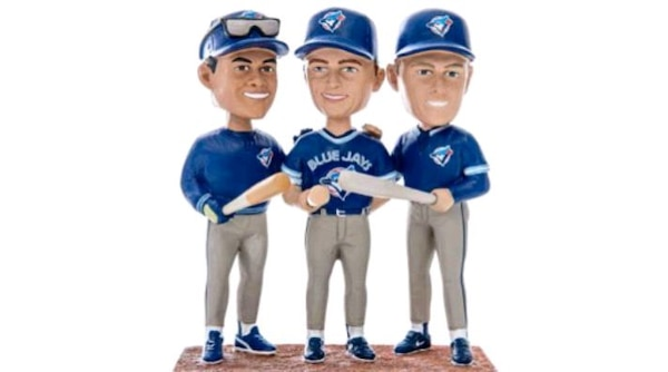 Toronto Blue Jays Triple Bobblehead