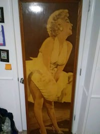 All wooden fame picture of Marilyn Monroe  Glen Burnie, 21061