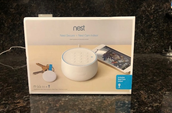 New nest secure alarm security system with indoor video camera / ecobee /  google / ring doorbell