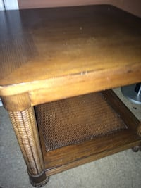 brown wooden center table 24 Inch