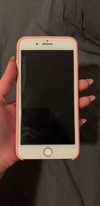 Unlocked Gold iPhone 7 Plus with Pink Case  New York, 11229