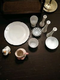 white ceramic plates and cups Hagerstown, 21740