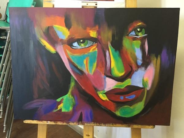 Acrylic Painting  (by Sally)