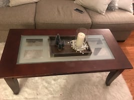 Coffee table +2 matching side tables