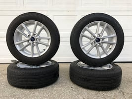 Ford OEM wheels rims and tires