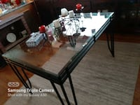30 small glass kitchen table. Only table