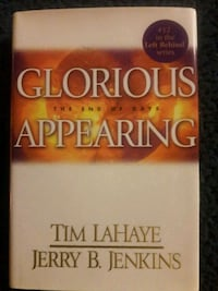 """ GLORIOUS APPEARING"" HARD COVER BOOK Redford Charter Township"