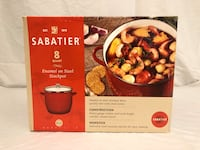 Sabatier 8 QT Enamel on Steel Stockpot (New)  Minneapolis, 55436