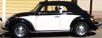 Black and white classic volkswagen beetle convertible Manteca, 95336
