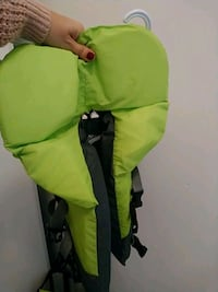 green and black backpack carrier Toronto, M6H
