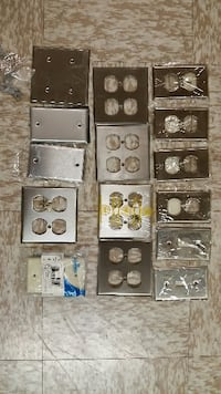 Electrical Supplies stainless steel covers -$ 10.00  Park Ridge