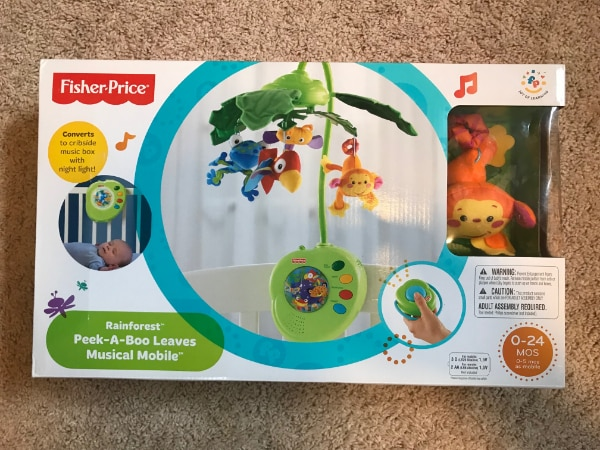 Baby Crib Mobile (BRAND NEW IN BOX)