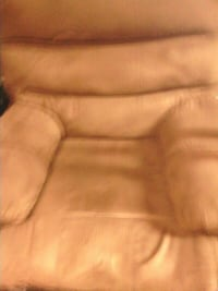 brown wooden frame brown padded sofa Fairborn, 45324
