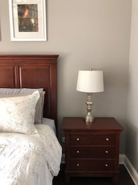 Set of table lamps / bedside lamps