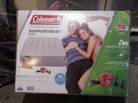 Coleman queen size antimicrobial 15inch mattess Abbotsford