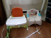 baby's white and green high chair Westminster, 21157