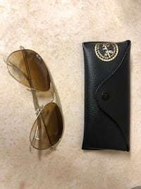 Ray ban Aviator RB3025 authentic gradient lens gold brown  Burnaby, V5C