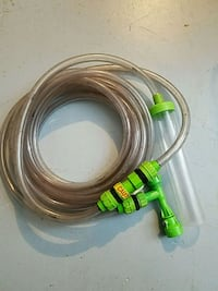 Fish tank drain/ fill hose with faucet adapter 46 km