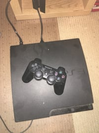 PlayStation 3 and controller  3156 km