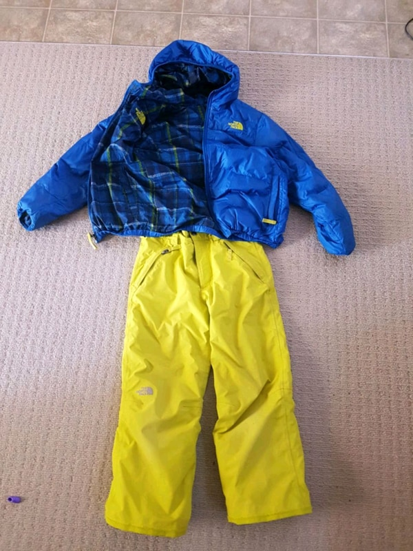 ddbcda707389 Used North Face winter jacket and ski pants for sale. for sale in ...