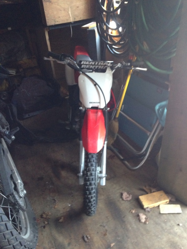 Honda crf 80cc dirt bike runs perfectly