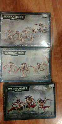 6 boxes of Warhammer models, still in plastic