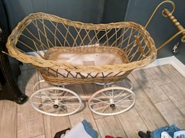 Antique you doll stroller - needs to be picked up today