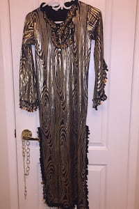 Golden with black party  dress size S Mississauga, L5A