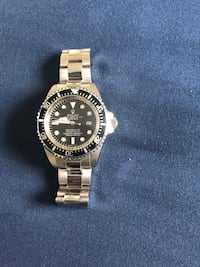 round silver-colored Rolex analog watch with link  Edmonton, T6K 3Z4