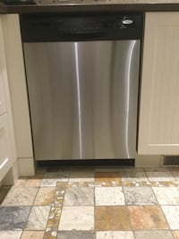 Stainless Whirlpool dishwasher Laval, H7M